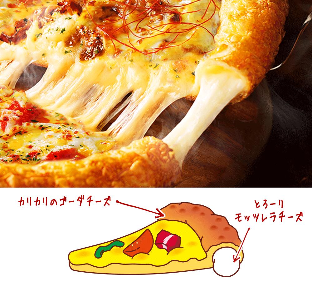 ピザハット クリスピー